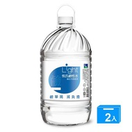悅氏Light鹼性水6000ml*2【愛買】