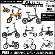 [SG LTA Approved eBike] [In Stock] Scorpion Venom 2/2+ [Preorder] Eco Drive Ji-move Kudu Zebra Electric Bicycle eBikes PAB (Free Gifts x6)  1Y Free Warranty For Scorpion/Venom 2/2+ (Other E-bike model is 6m warranty) [EST: 31th December]