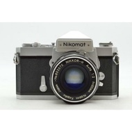 底片 單眼相機 Nikon ftn nikomat 50mm f2 non ai 鏡頭
