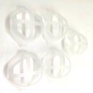 [9玉山最低網] 台灣現貨 5 入裝  口罩支架口鼻支架臉部罩神器支架支架內在呼吸空間可重複使用的嘴罩架 Q34