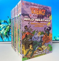 Science Comics Series 1 -  20 books per set, 4 colors, English books for children.