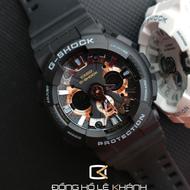 Casio g-shock จำกัด ga-120RG-1a สีดำวินเทจแฟชั่นกีฬานาฬิกากันน้ำสำหรับผู้ชาย(Rose Gold and Black)
