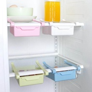 Rego ตู้เย็นลิ้นชัก S Aver พื้นที่ตู้แช่แข็งตู้เย็นสไลด์ลิ้นชักครัวตะแกรงที่วางกล่องเก็บ