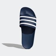 รองเท้าแตะ adidas adilette สีกรมคาดขาว รหัสแท้ 288022 sandals รองเท้าแตะผู้ชาย ผู้หญิง แท้