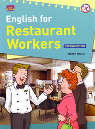 English for Restaurant Workers 2/e(with CD) (新品)
