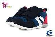 Moonstar月星 HI系列 3E寬楦 寶寶運動鞋 小童 輕量 日本機能鞋 I9618#藍色 奧森