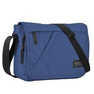 Mixi 14นิ้วผู้ชายวัยรุ่นกระเป๋าเป้เดินทางกันน้ำสบายๆความจุมากซับในไนลอนกระเป๋าสะพายข้างM5177
