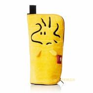 asdfkitty可愛家☆SNOOPY史努比的糊塗塔克黃色保溫保冷水壺套/水壺袋/收納袋-也可當折傘套.化妝袋-日本正版