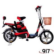【9I7】電動 48鉛酸 LED 輕便 電動輔助自行車