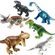 Lego Jurassic World Tyrannosaurus Model Kids Toys Legoing Dinosaurs Park Building Blocks Assemble Movies Figures Game Gift