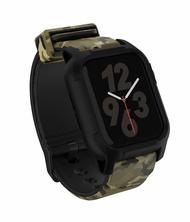 【44มม.】สำหรับApple Watch Series 4/5/6/SEกลวงแฟชั่นกรณีสายรัดระบายอากาศตั้งสายนาฬิกาสำหรับเปลี่ยนชายหญิง