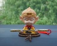เห้งเจีย ตุ๊กตาเห้งเจียดุ๊กดิ๊ก พร้อมกระบองทองและสร้อยประคำ สวยงามน่ารัก(ยังไม่ผ่านพิธี)