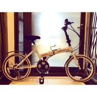 九成新 IRLAND 20吋21速 小折 折疊腳踏車 附腳踏車攜帶包