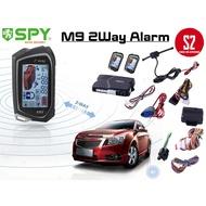 M9 SPY AUTO SECURITY 2-WAY AUTOSTART LCD ALARM CAR ALARM SYSTEM