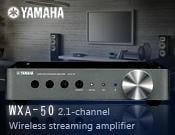 【風尚音響】YAMAHA WXA-50 2.1聲道 無線串流擴大機