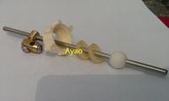 Ayao【水電材料】和成型不銹鋼橫桿(排桿專用 )不鏽鋼橫桿 排桿落水頭 拉桿式臉盆落水頭  排桿拉桿 排桿式落水頭