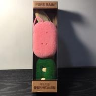 PURE RAIN 去角質沐浴刷/韓國知名蓮蓬頭系列產品