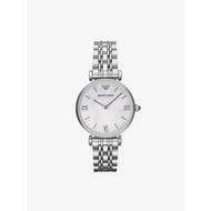นาฬิกา EMPORIO ARMANI Classic Mother of Pearl Dial - Silver AR1682 ของแท้100%