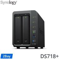 [五年保Seagate IronWolf Pro 14TB*2] Synology DS718+ 2Bay NAS