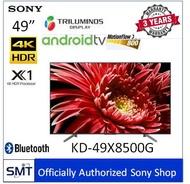 Sony  49  4K HDR Andriod TV KD-49X8500G (สีดำ) รุ่นปี 2019