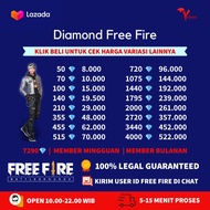 Top Up Diamond Free Fire / Diamond FF Garena DM