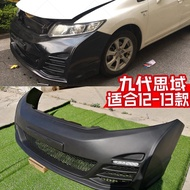 For Civic FB 9th 2012-2013 ABS Front Bumper Trim Tuning Part for CIVIC FB Front Bumper Racing