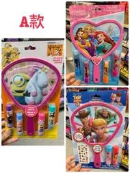 美國代購🇺🇸 護唇膏 迪士尼公主 神偷奶爸 小小兵 玩具總動員4 冰雪奇緣 阿拉丁