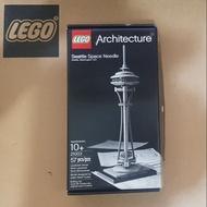 Lego 21003 建築系列 Seattle space needle 二手