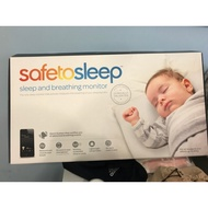 SafeToSleep 嬰兒 呼吸監控 床墊