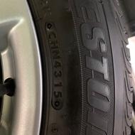 出售 Honda Civic 9代 原廠鋁圈+ 普利司通 205/55/16堪用輪胎