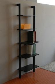 簡單生活層架-黑/W56xD30xH189cm