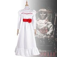 ~~安娜貝爾2誕生COS 恐怖娃娃cosplay服裝 萬圣節親子cos服~~