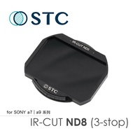 [STC] ND8 (3-stop) 內置型濾鏡架組 for Sony a7SIII/ a7r4/ a9II / A1 / FX3