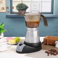 เครื่องทำกาแฟ มอคค่าพอทไฟฟ้า หม้อต้มชากาแฟ Electric Moka Pot