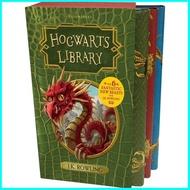 จัดส่งฟรี Asia Books หนังสือภาษาอังกฤษ HOGWARTS LIBRARY BOX SET THE (3 BOOKS)