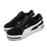 【PUMA】休閒鞋 Cali Taped 運動 女鞋 基本款 簡約 復古 穿搭 麂皮 時尚 黑 白(37081903)