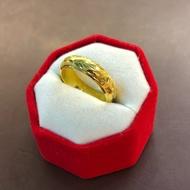 แหวนทองมังกรรอบวง ครึ่งสลึง ทอง 96.5%