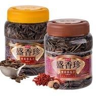 【盛香珍】豐葵香瓜子禮桶(焦糖風味/桂圓紅棗風味-2種口味可選)