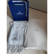 售 全新專櫃 (施華洛世奇)SWAROVSKI  水晶圍巾