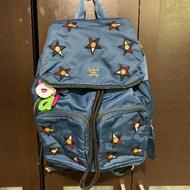 香港salad 星星束帶拉鍊尼龍後背包