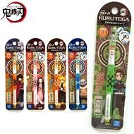 【鬼滅之刃 旋轉自動鉛筆】鬼滅之刃 自動鉛筆 防斷芯 三菱 UNI kuru toga 0.5 mm 日本製 該該貝比日本精品