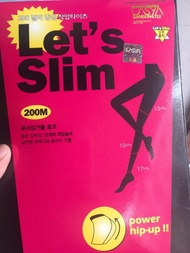 【限時特價】現貨 2016 LASYA瘦腿襪 let's slim燃脂褲美腿塑形微壓力襪 200D 內搭褲 絲襪 褲襪