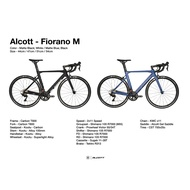 Sports₪✠ALCOTT FIORANO M SHIMANO 105 CARBON ROAD BIKE COME WITH FREE DELIVERY & 10 FREE GIFT