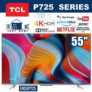 """TCL - 55P725 55"""" 4K 超高清 ANDROID 電視 P725"""