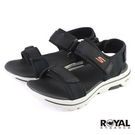 Skechers Go Walk 黑色 布質 涼鞋 男款 NO.B2096 229003BKOR 廠商直送