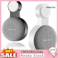 DOH_Socket Wall Mount Bracket Stand Hanger Holder for Google Nest Mini Smart Speaker