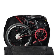 Flameer Folding Bike Transport Carry Bag Up To 20  Wheel Folding Bicycle Scooter Carrier