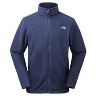 【美國 The North Face】男新款 保暖立領輕柔刷毛抓絨外套夾克_366L 藍 N