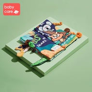 babycare Baby Cloth Books Set Early Educational Tails Toys BPA Free Durable Teether for Children and Kids