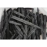 [小冬瓜五金行] 固定釘 250支/件( 山型 / 三叉) 塑膠釘 雜草蓆固定釘-適用雜草蓆 雜草抑制蓆 黑銀布 銀黑布